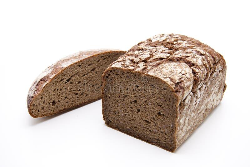 Pão de Wholemeal e pão de centeio fotografia de stock