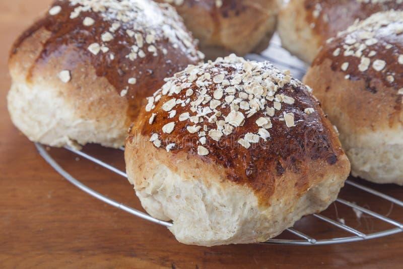 Pão do melaço da farinha de aveia fotos de stock royalty free