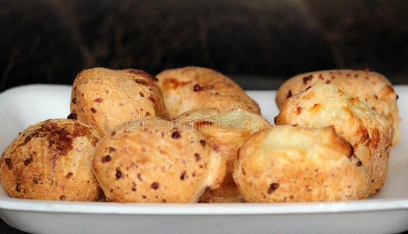 Pão do queijo foto de stock