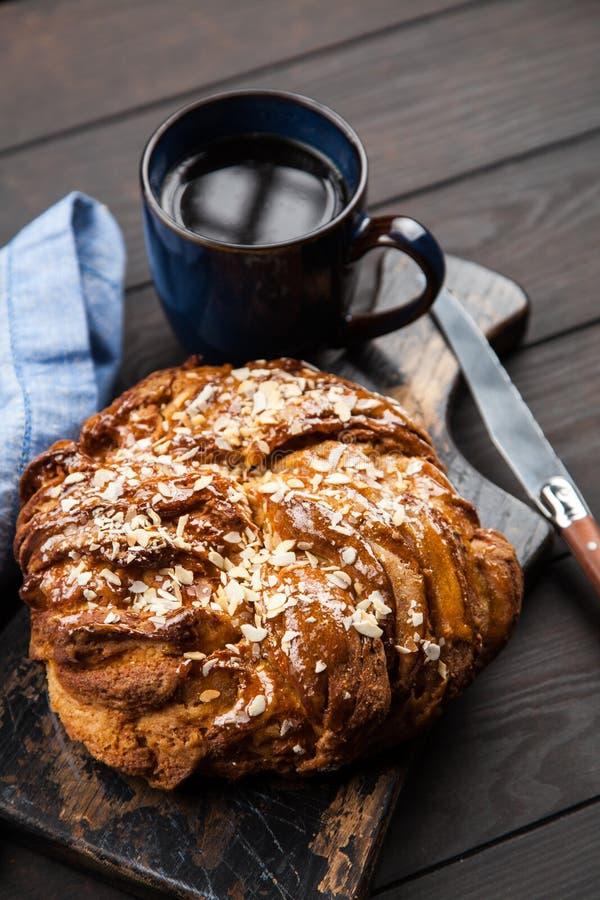 Pão doce do xarope de bordo foto de stock