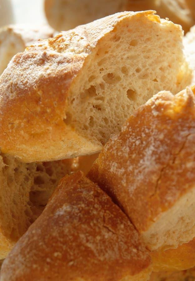 Pão duro fresco imagens de stock