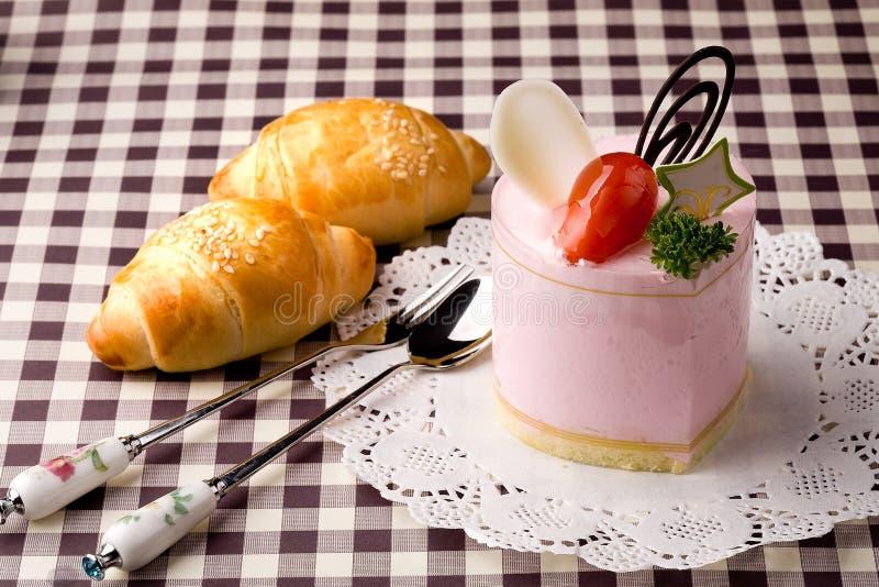 Pão e bolo imagens de stock royalty free