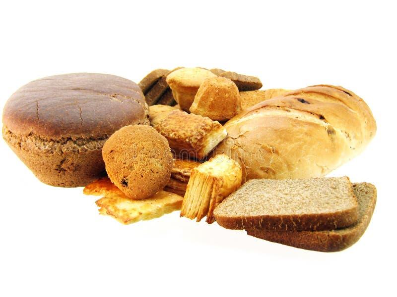 Pão e bolo imagem de stock royalty free