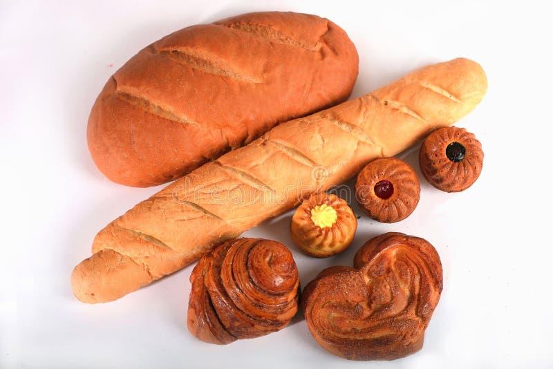Pão e bolos imagens de stock royalty free