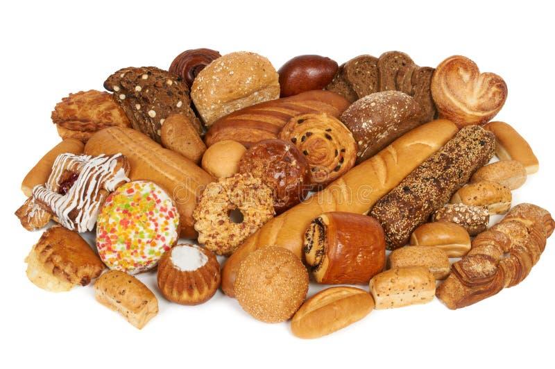 Pão e pastelaria foto de stock royalty free