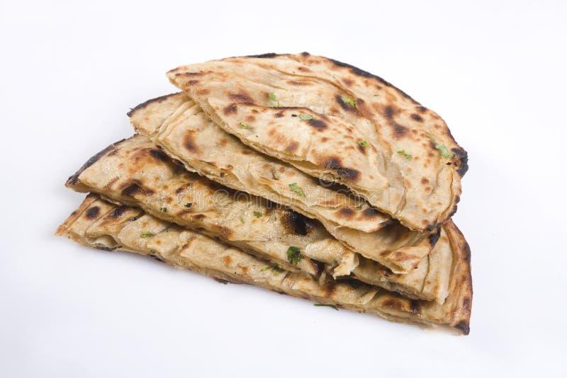 Pão indiano ou Lachha Paratha imagens de stock royalty free