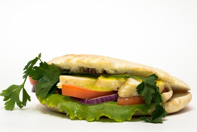 Pão italiano, ciabatta imagem de stock