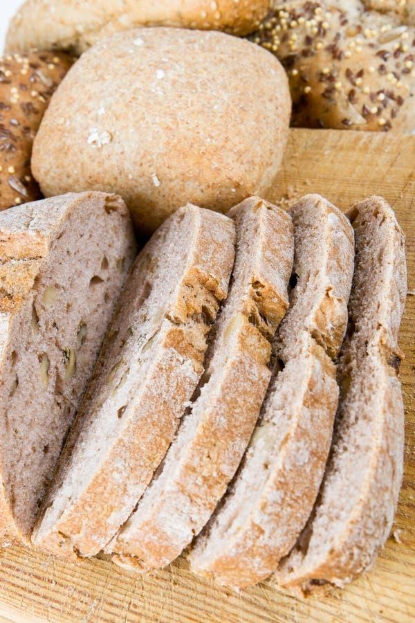 Pão misturado fotografia de stock royalty free