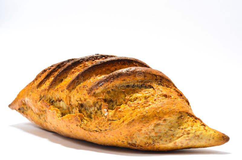 Pão no fundo branco fotos de stock