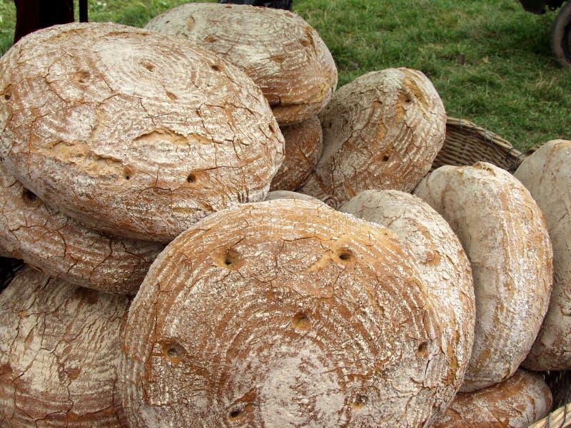 Pão polonês tradicional com grande gosto fotos de stock