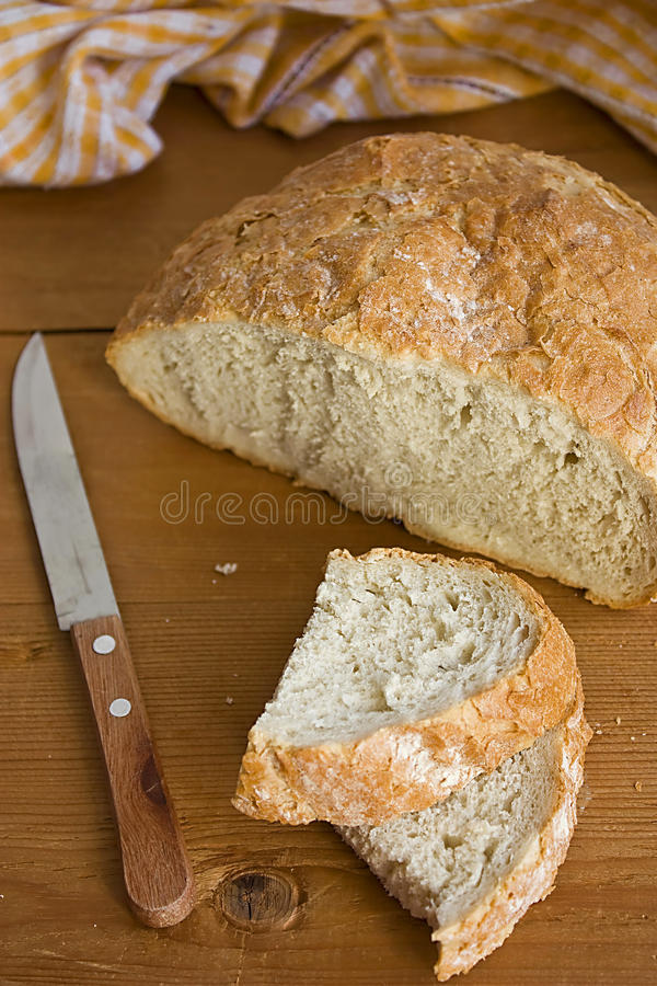 Pão rústico fotografia de stock royalty free
