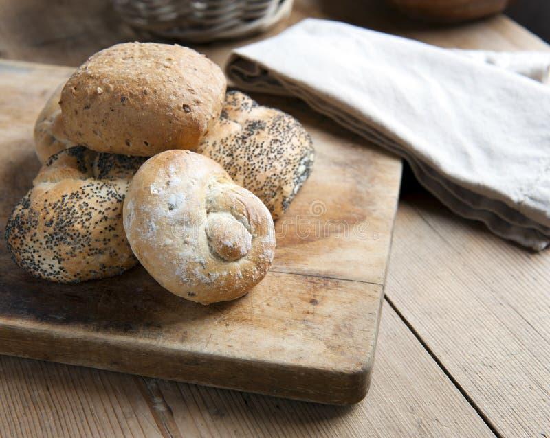Pão Rolls fotos de stock