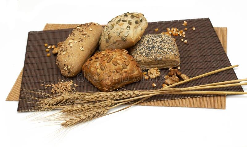 Pão saudável da fibra fotografia de stock royalty free