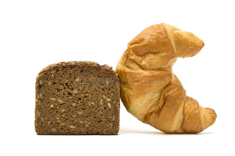 Download Pão saudável e insalubre imagem de stock. Imagem de insalubre - 10068271