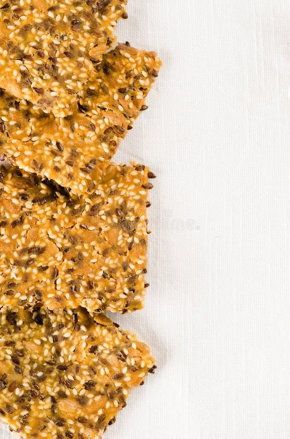 Pão torrado caseiro sem glúten fotografia de stock