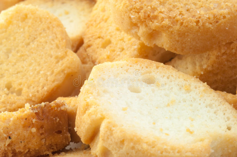 Pão torrado do pão foto de stock