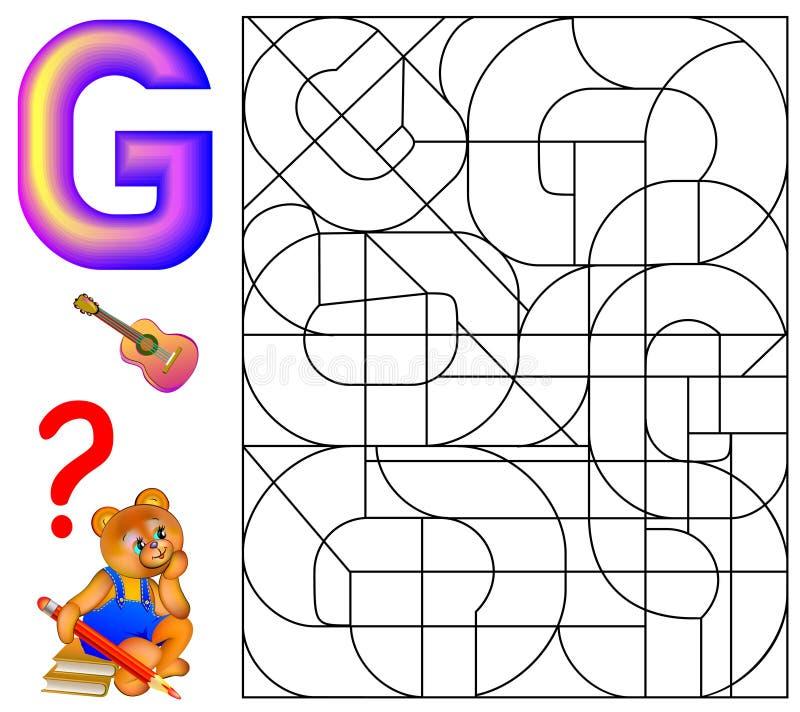 Fantastisch Arbeitsblatt Für Die Buchstaben G Bilder ...