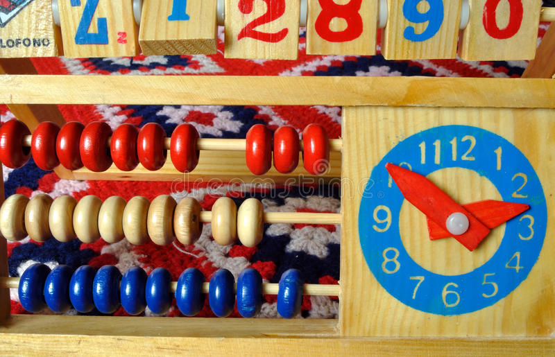 Pädagogisches Spielzeug stockfotografie