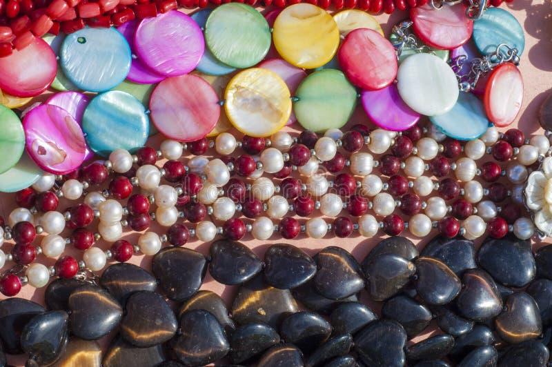 pärla chaplet som pryder med pärlor royaltyfri fotografi