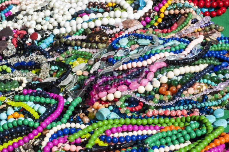 pärla chaplet som pryder med pärlor royaltyfri bild