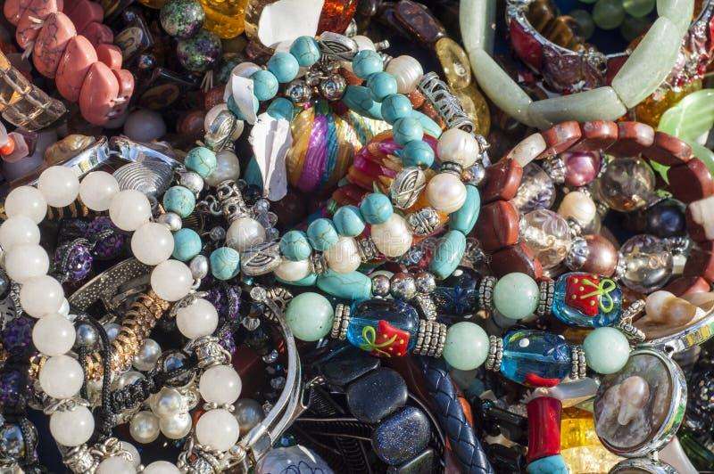 pärla chaplet som pryder med pärlor arkivfoton