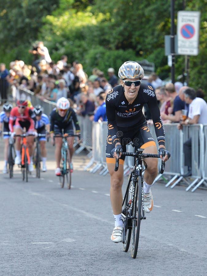Pärlemorfärg Izumi Tour Series Bicycle Race final i badet England royaltyfri fotografi
