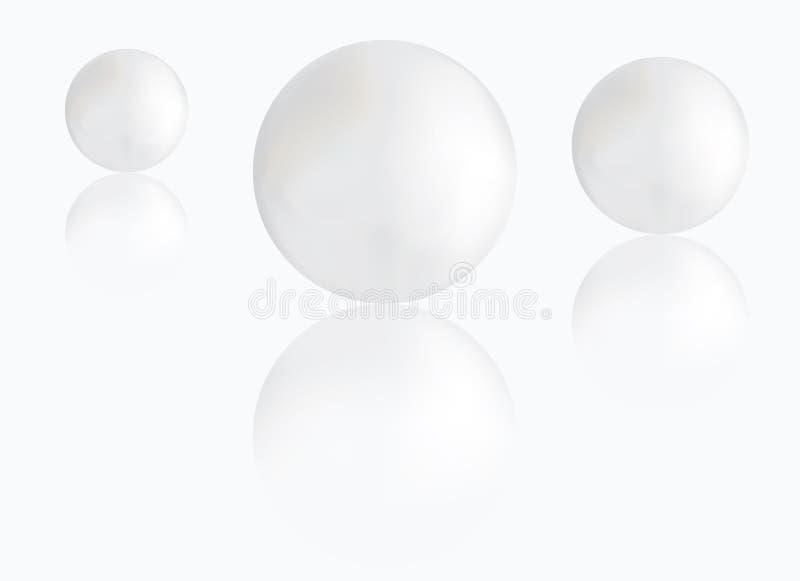 Download Pärlor vektor illustrationer. Illustration av juvel, värde - 19797381