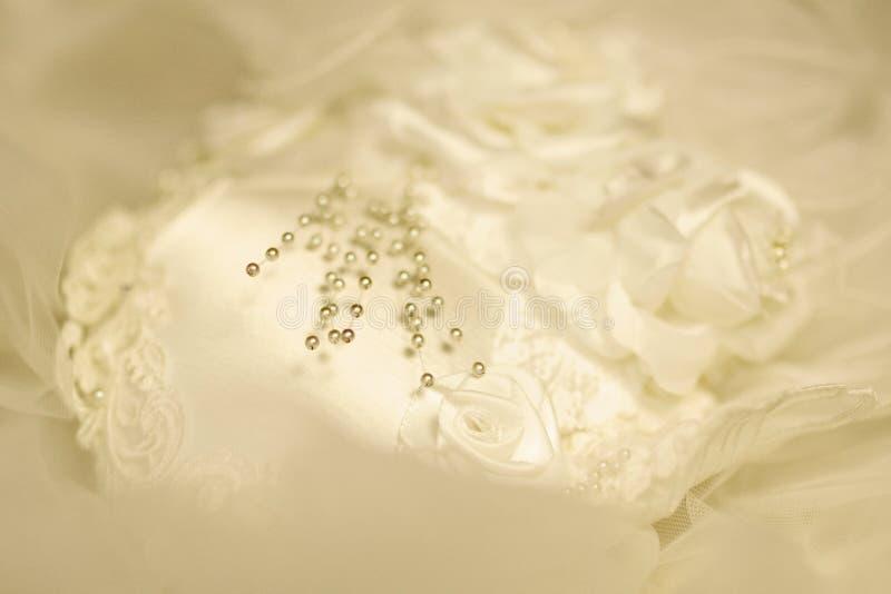 Pärlor På En Skyla Royaltyfria Foton