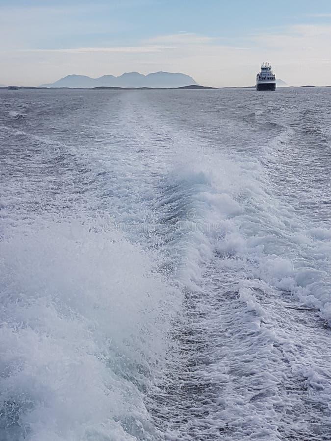 På havet arkivbild