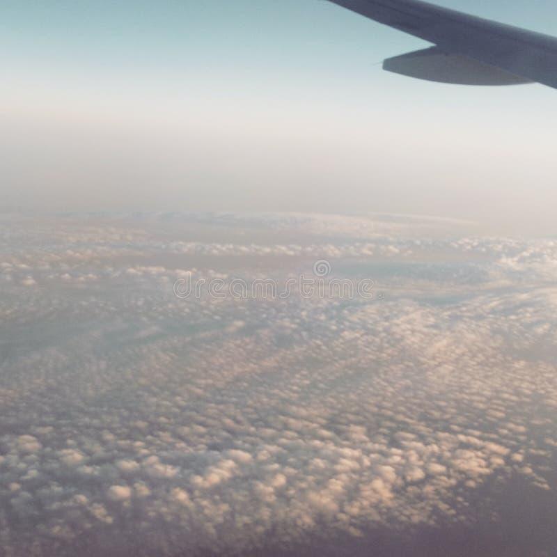 På himlen arkivfoton