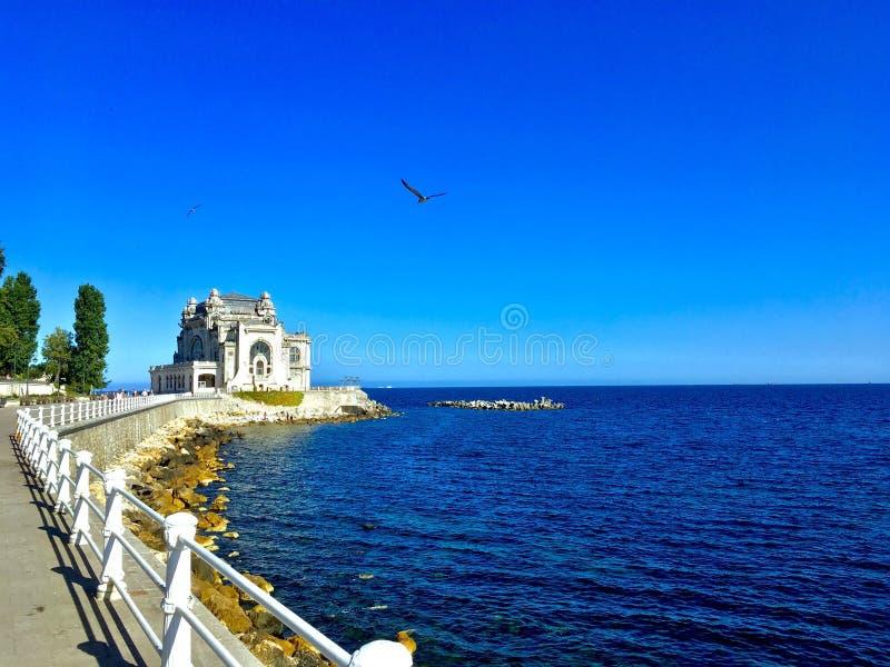 På kusten royaltyfri fotografi