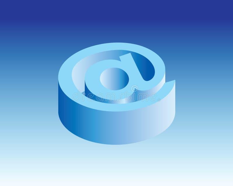 På symbolen & tecknet 3d royaltyfri fotografi
