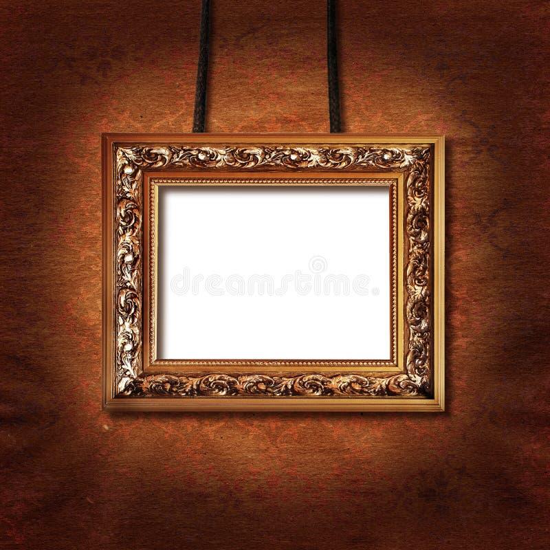 påfylld bild för bana för områdesclippingram till väggen royaltyfria bilder