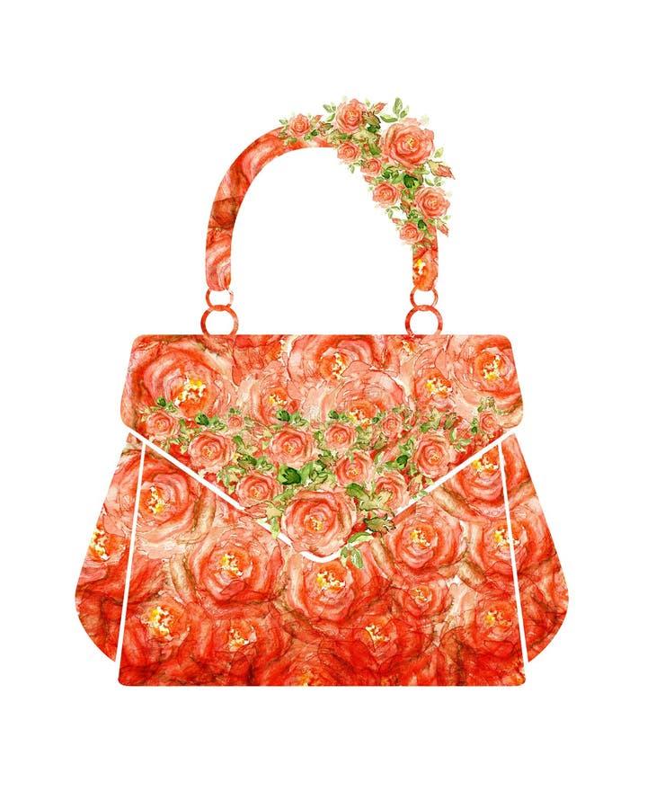Download Påse för modekvinnamakeup stock illustrationer. Illustration av baggies - 37344291