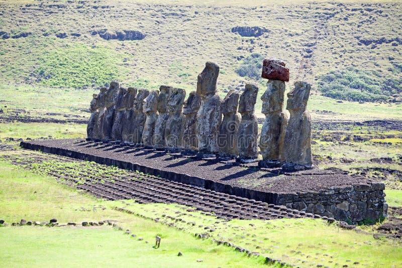 Påskö, Chile royaltyfria foton