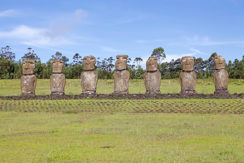 Påskö, Chile arkivbilder