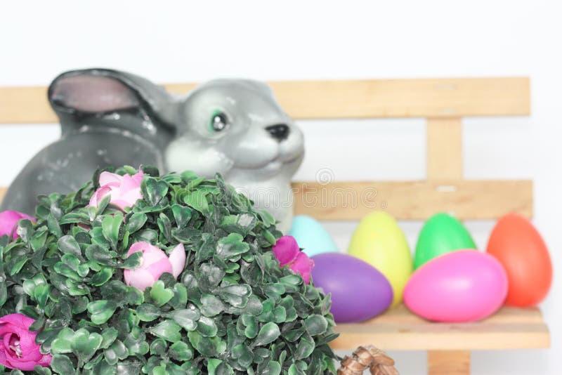 Påsk kanin easter royaltyfria bilder