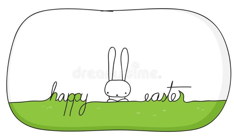 Download Påskkort vektor illustrationer. Illustration av vitt - 37347949