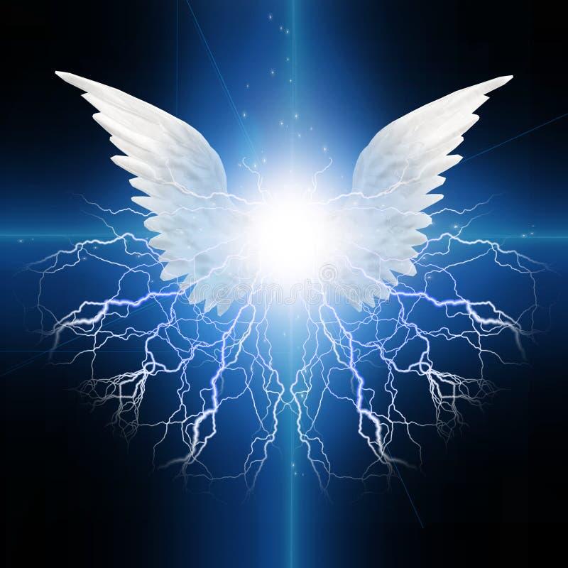 Påskyndad ängel royaltyfri illustrationer