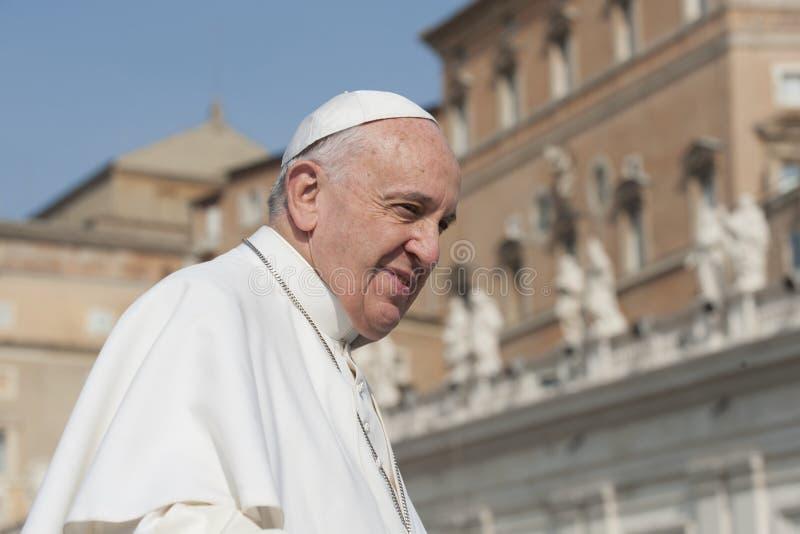 Påve Francis royaltyfri foto