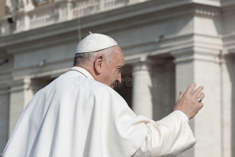 Påve Francis royaltyfri fotografi