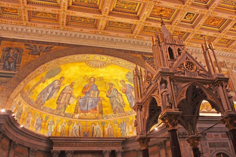 Download Påvlig Paul För Basilica Saint Arkivfoto - Bild av italienare, stads: 19791474
