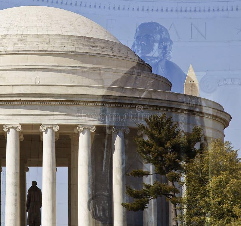 Père fondateur, Thomas Jefferson photos stock