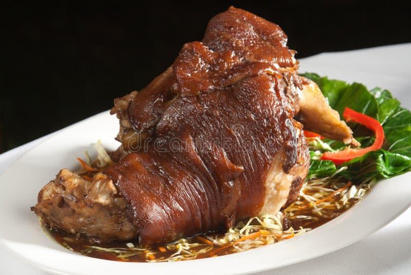 Download Pé Da Carne De Porco Do Vapor Imagem de Stock - Imagem de garnish, alimento: 29829379