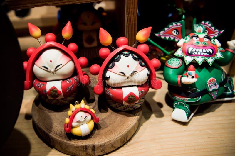 Pékin, artisanat traditionnel de la Chine image stock
