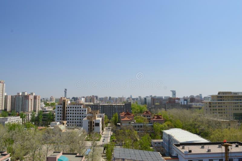 Pékin au printemps photographie stock
