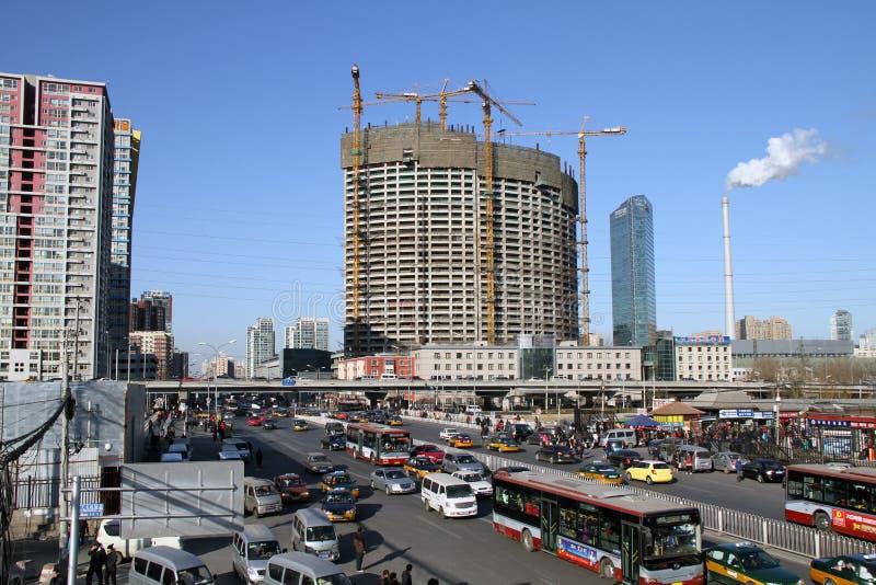 Pékin CBD photo stock