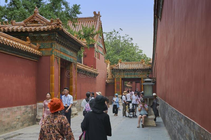 Pékin, Chine - juin 2019 : Cité interdite photos stock