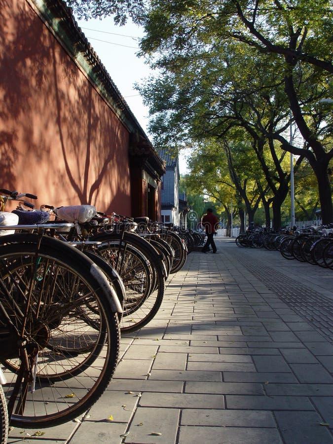 Pékin Chine - vue de verticale   photographie stock