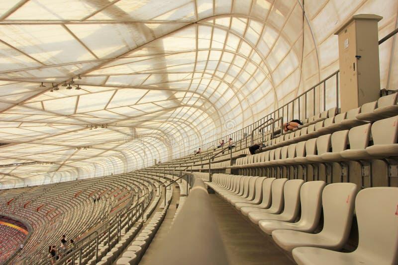 Pékin nid national du Stade Olympique/oiseau s photos stock